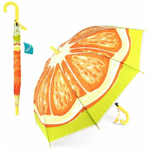 Зонтик детский трость, 66см Amico 102421