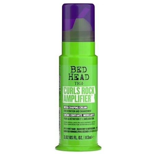 Крем дефинирующий TIGI Bed Head Curls Rock Amplifier для вьющихся волос, 113 мл tigi bed head cтайлинговый крем для укладки бороды и волос tigi bh 100 мл