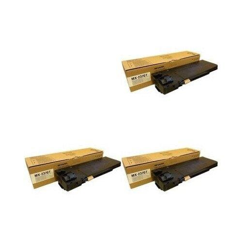 Sharp MX237GT-3PK Картриджи комплектом MX237GT черный 3 упаковки [выгода 3%] Black 60К для AR-6020DVE AR-6020, AR-6020NVE, AR-6020VE, AR-6023D AR-6023, AR-7024DEU AR-7024, AR-7024EU [MX-237-GT]