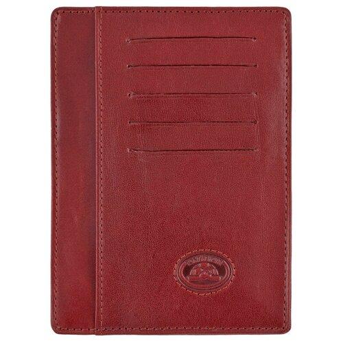 Обложка для паспорта и Tony Perotti Italico - Tuscania, женская, натуральная кожа, красный