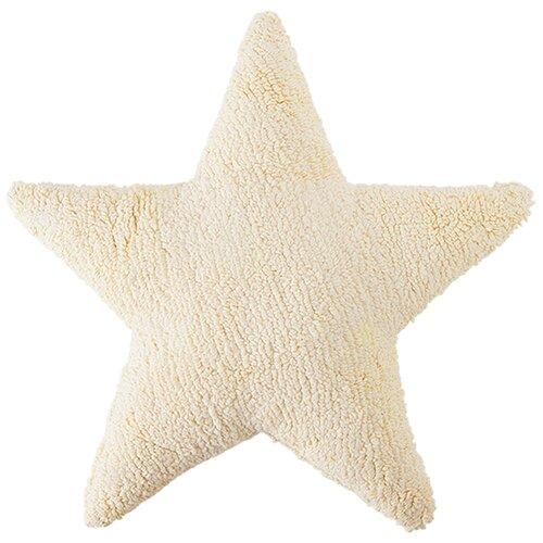 Подушка Звезда Star ванильная 50*50