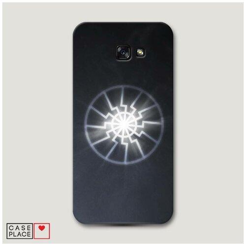 Чехол Пластиковый Samsung Galaxy A7 2017 Черное солнце