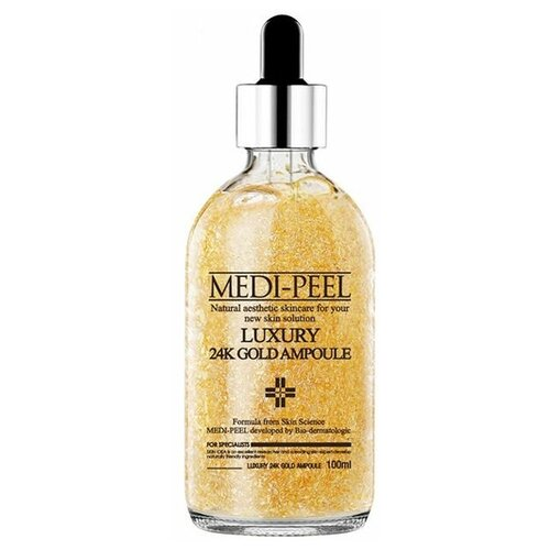 Купить MEDI-PEEL Сыворотка для лица с лифтинг эффектом Luxury 24K Gold Ampoule, 100 мл