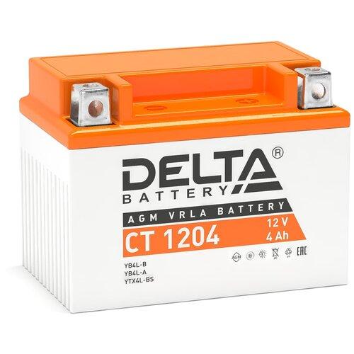 Аккумулятор DELTA Battery CT1204 аккумулятор delta battery gel 12 55
