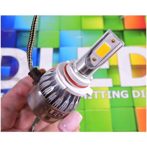 Светодиодные автомобильные лампы HB3 9005 DLED C6 3000K (2шт.)