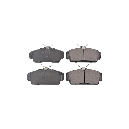 NIBK pn2230 (410602F257 / 410602F525 / 410602F526) колодки тормозные дисковые Nissan (Ниссан) Almera (Альмера) 1.5 2002 - Nissan (Ниссан) Almera (Альмера) 1.8 2002 - Nissan (Ниссан) Almera (Альмера) 1.5 2