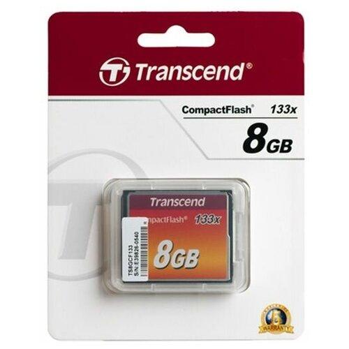 Фото - Карта памяти 8GB Transcend CF 133x карта памяти 32gb transcend cf 400x
