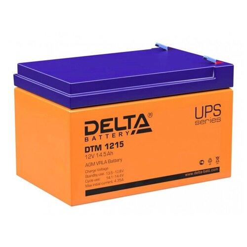 Аккумуляторная батарея DELTA Battery DTM 1215 14.5 А·ч аккумуляторная батарея delta battery dtm 12250 i 250 а·ч