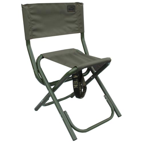 Стул Митек складной средний со спинкой Комфорт серый стул митек складной средний со спинкой