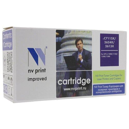 Фото - Картридж NV Print C7115X/2624X/2613X для HP, совместимый картридж nv print cf400a для hp совместимый