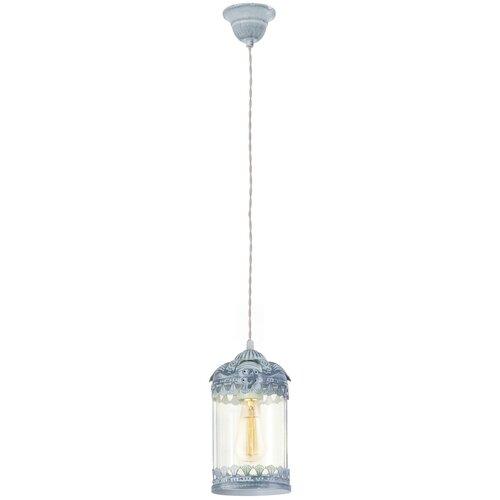 Потолочный светильник Eglo Langham Vintage 49204, E27, 60 Вт, кол-во ламп: 1 шт., цвет плафона: бесцветный потолочный светильник eglo 94635 e27 60 вт