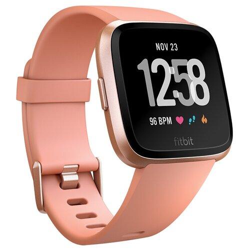 Умные часы Fitbit Versa, peach/rose gold