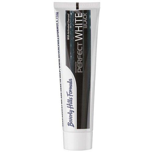 Купить Зубная паста Beverly Hills Formula Perfect White Black fresh mint, 100 мл