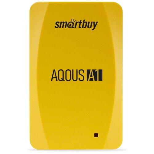 Фото - Внешний SSD Smartbuy Aqous A1 512GB USB 3.1 ЖЕЛТЫЙ внешний ssd smartbuy aqous a1 512gb usb 3 1 серый