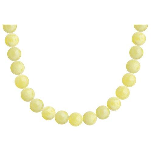 SOKOLOV Колье из золота с янтарём 770349, 45 см, 0.86 г