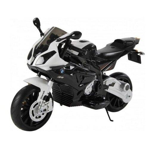 Детский мотоцикл BMW S1000PR на аккумуляторе 12V черный jiajia мотоцикл bmw s1000rr jt5188 blue