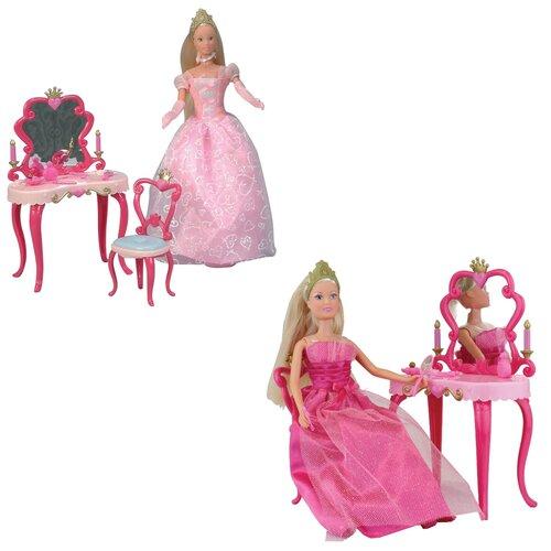 Кукла Steffi Love Штеффи-принцесса со столиком, 29 см, 5733197 недорого