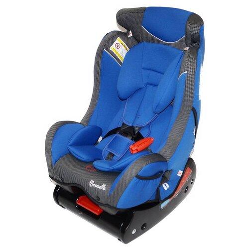 Автокресло группа 0/1/2 (до 25 кг) Carmella 718 RF, deep blue/black dot автокресло группа 1 2 3 9 36 кг little car ally с перфорацией черный