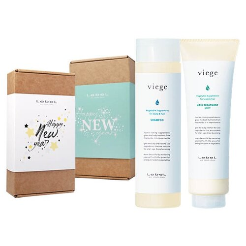 Купить Набор Lebel Viege Антивозрастной уход за волосами (Шампунь 240мл + Маска увлажняющая 240мл), Lebel Cosmetics