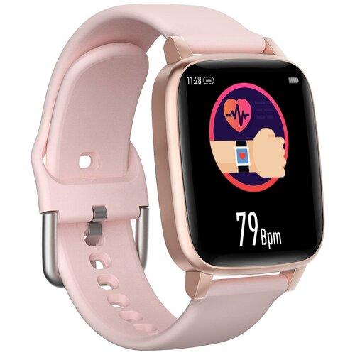 Умные часы Qumann QSW 03, розовый
