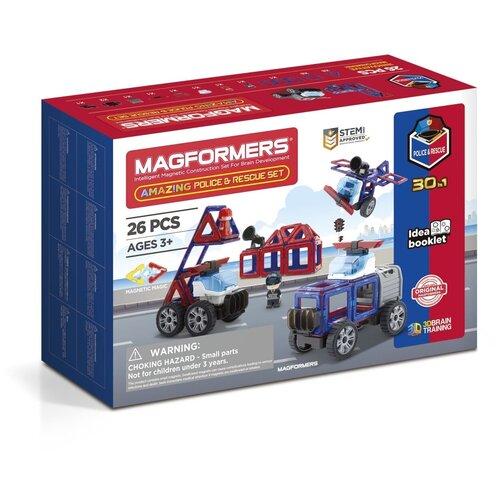 Купить Конструктор Magformers Amazing 717001 Police & Rescue Set, Конструкторы