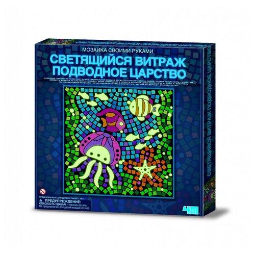 Фото - 4M Набор для творчества Светящийся витраж Подводное Царство (00-04648) подводное царство