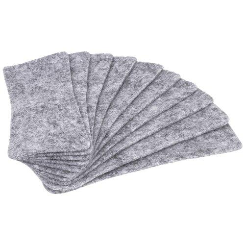 Сменные накладки для губки BRAUBERG 237093 серый
