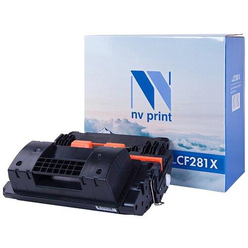 Фото - Картридж NV Print CF281X для HP, совместимый картридж nv print ce412a для hp совместимый