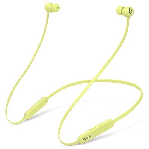 Беспроводные наушники Beats Flex All-Day Wireless, желтый цитрус