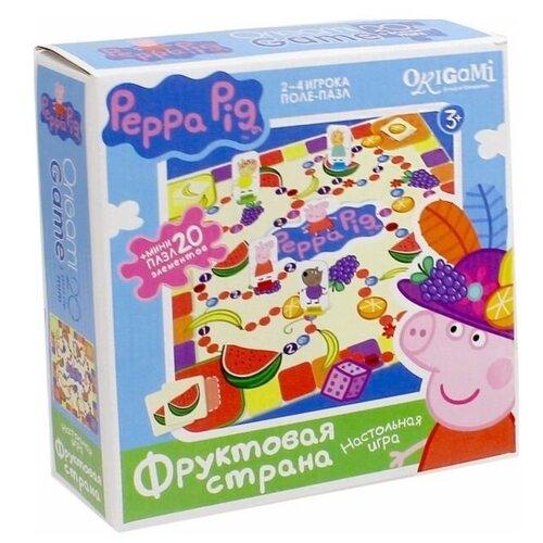 Купить Настольная игра Origami Peppa Pig. Фруктовая страна, Настольные игры
