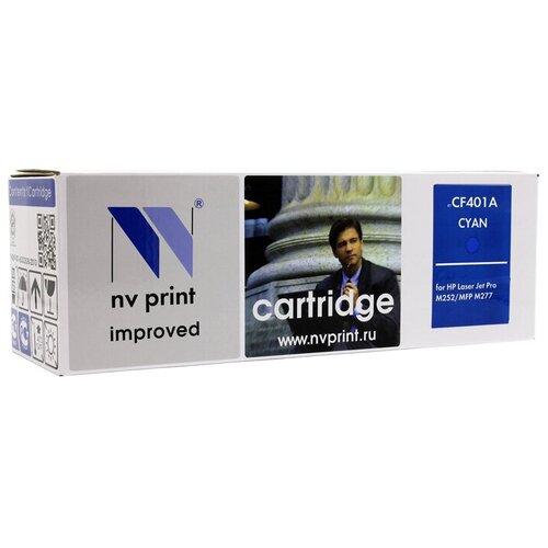 Фото - Картридж NV Print CF401A для HP, совместимый картридж nv print cf237x для hp совместимый