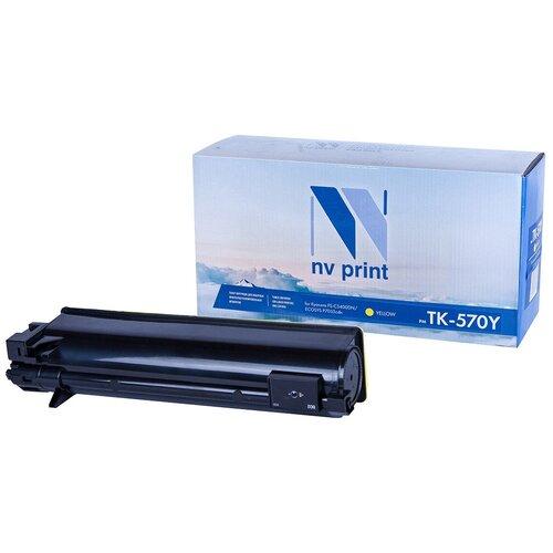 Фото - Картридж NV Print TK-570 Yellow для Kyocera, совместимый картридж nv print tk 895 yellow для kyocera совместимый