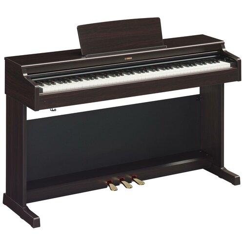 Цифровое пианино YAMAHA YDP-164 палисандр цифровое пианино yamaha p 45 black