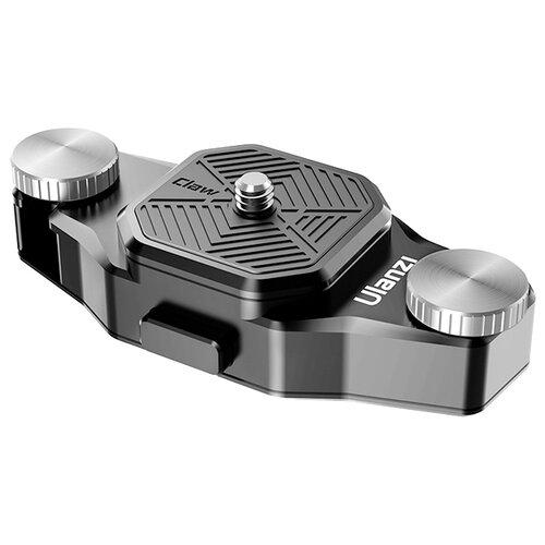 Фото - Крепление к рюкзаку Ulanzi Claw Shoulder Strap Combo черный крепления ulanzi claw quick release mount for sports cameras 21310 2106