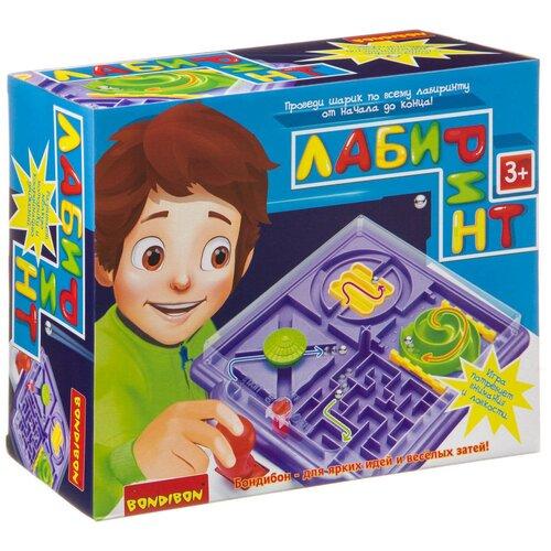 Настольная игра BONDIBON Лабиринт ВВ3821 bondibon настольная игра bondibon лабиринт с джойстиком прямоугольное поле
