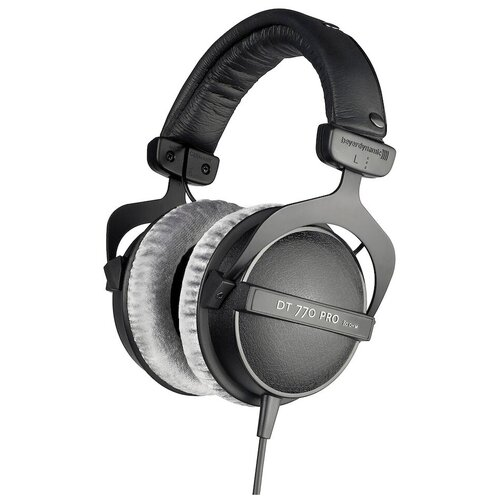 Наушники Beyerdynamic DT 770 Pro (80 Ohm), черный/серый