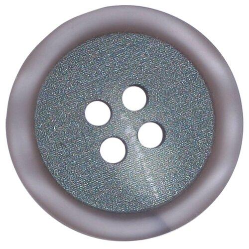 Купить 3AR158 Пуговица на прокол 34L (серый), 36 шт, Astra & Craft, Пуговицы