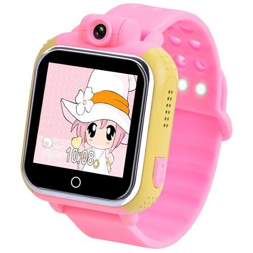 Детские умные часы Smart Baby Watch GW1000, розовый детские умные часы smart baby watch q70 розовый