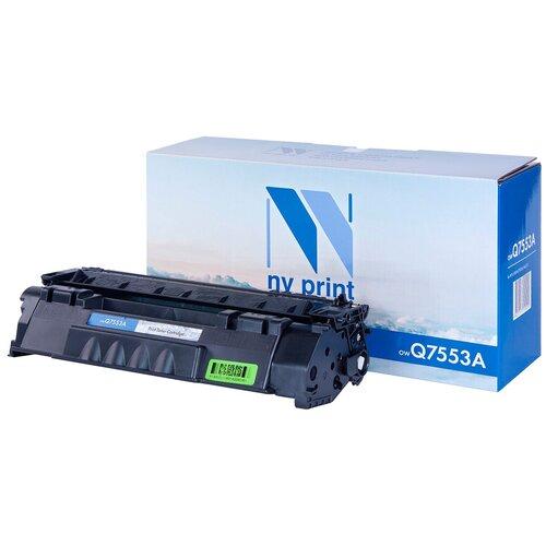 Фото - Картридж NV Print Q7553A для HP, совместимый картридж nv print q7553a для hp laserjet p2014 p2015 m2727mfp черный 3000стр