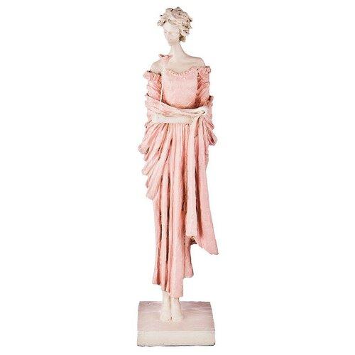 Фото - Статуэтка Lefard Пастель, 48 см белый/розовый статуэтка lefard пастель 48 см белый зеленый