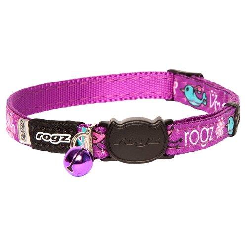 Ошейник Rogz FancyCat CB06С фиолетовый
