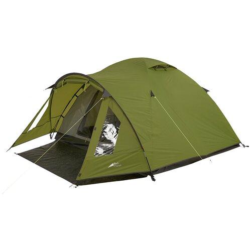 Палатка TREK PLANET Bergamo 4 зеленый недорого