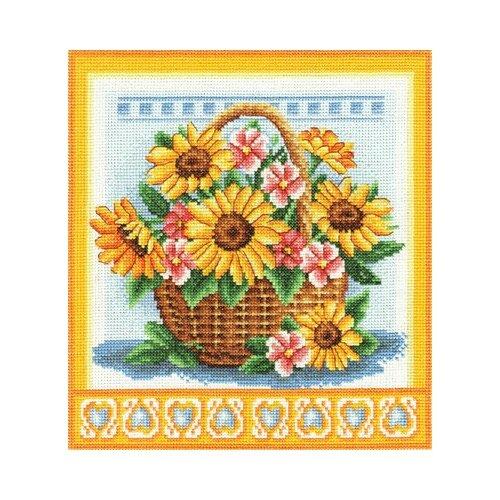 Набор для вышивания «Panna» Ц-1093 Корзинка с цветами набор для вышивания butterfly 153 корзинка с мимозой