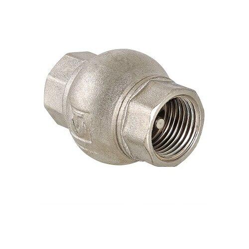 Фото - Обратный клапан пружинный VALTEC VT.151.N муфтовый (ВР/ВР), латунь Ду 20 (3/4) запорный клапан зубр ширефит 51571 20 муфтовый вр вр ду 20 3 4