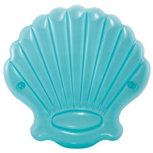 Игрушка Intex Морская ракушка 191x191 см голубой