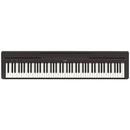 Цифровое пианино YAMAHA P-45 черный цифровое пианино yamaha p 45 black