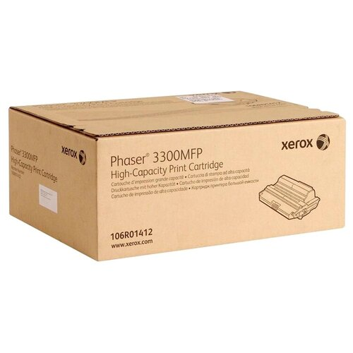 Фото - Картридж Xerox 106R01412 картридж bion 106r01412 для xerox phaser 3300mfp черный 8000стр