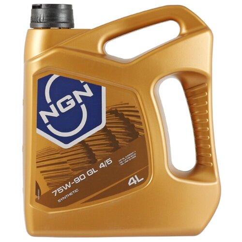 Трансмиссионное масло NGN 75W-90 GL4/5 4 л