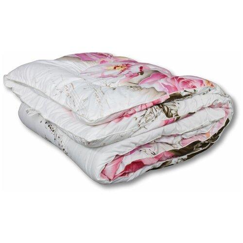 Фото - Одеяло АльВиТек Холфит-Комфорт, теплое, 140 х 205 см (белый/розовый) одеяло альвитек холфит комфорт в чемодане всесезонное 172 х 205 см фиолетовый