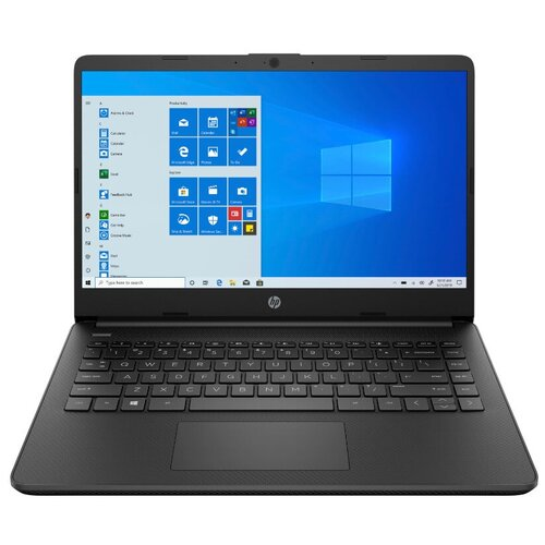 "Ноутбук HP 14s-dq2008ur (Intel Pentium 7505 2000MHz/14""/1920x1080/4GB/256GB SSD/Intel Iris Xe Graphics/Windows 10 Home) 2X1P4EA черный"